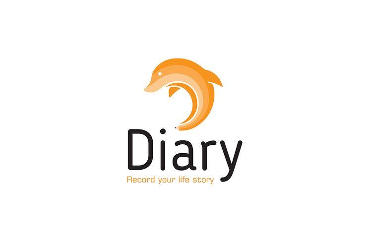 "Diray App brand identity & stationery design @Behance project: ""Diary App brand identity & stationery design."" https://www.behance.net/gallery/52165457/Diary-App-brand-identity-stationery-design"