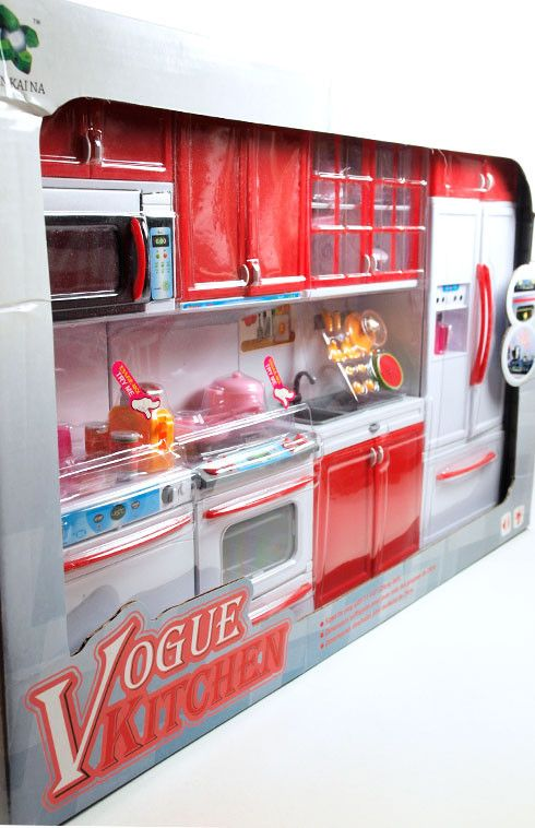 barbie 4 piece vogue modern kitchen set lower price