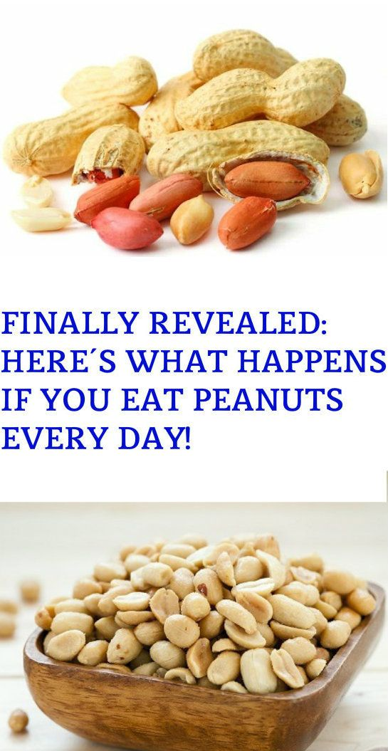 FINALLY REVEALED: HERE'S WHAT HAPPENS IF YOU EAT PEANUTS EVERY DAY! – Stay Healthy Magazine