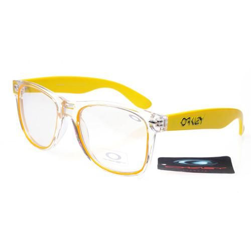 Discount Oakley Frogskins Square Yellow ASR Sale
