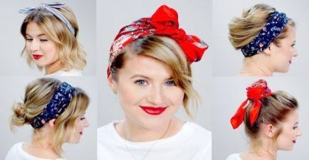 22 Concepts For Hairstyles Bandana Headbands Quick Hair