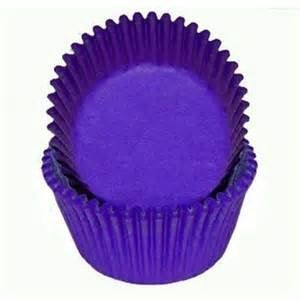 Dark Regal Purple Glassine Baking Cups Cupcake Liners 50 ct * Details can be found by clicking on the image.