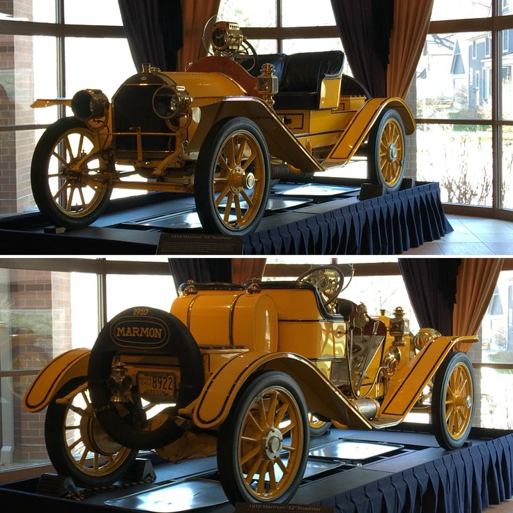 1910 Marmon Model 32 Roadster The model that the Marmon Wasp, Inaugural Indy 500 Winner in 1911, was based off of.  by Heidi Walczak.