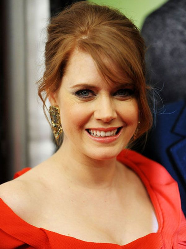Nice Hairstyles sexy loose bun updo with long curls from leighton meester Amy Adams Nice Hairstyles French Twists Daughters Medium Length Hairs Mom Bridesmaid Hair Medium Lengths Updos