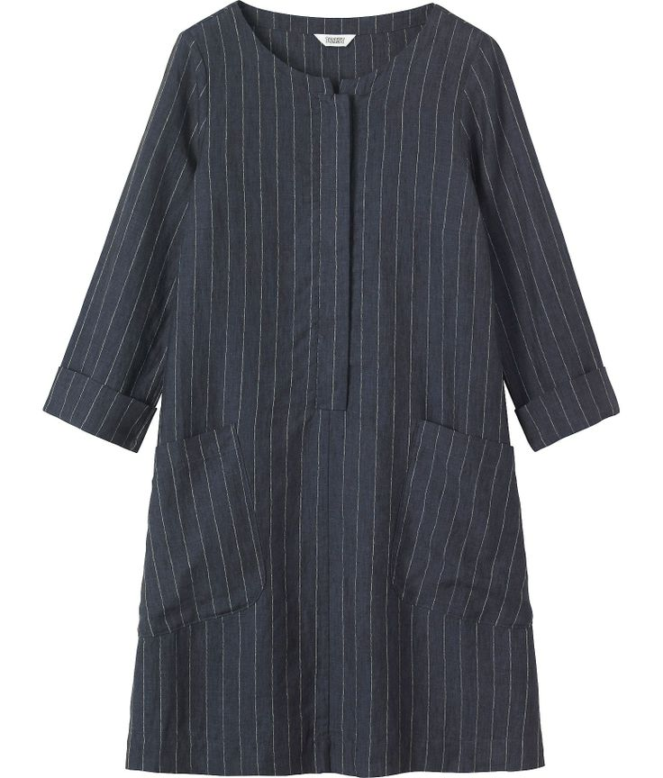 Women's Linen Stripe Dress, TOAST SS14