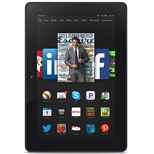 """Fire HDX 8.9, 8.9"""" HDX Display, Wi-Fi, 16 GB - Includes Special Offers - Gifts For Teen Boys"""
