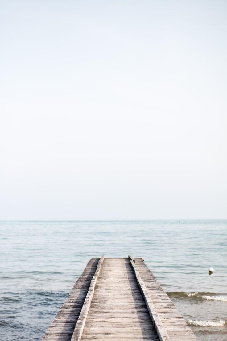 Absolute Ruhe und der Geruch des Meeres.