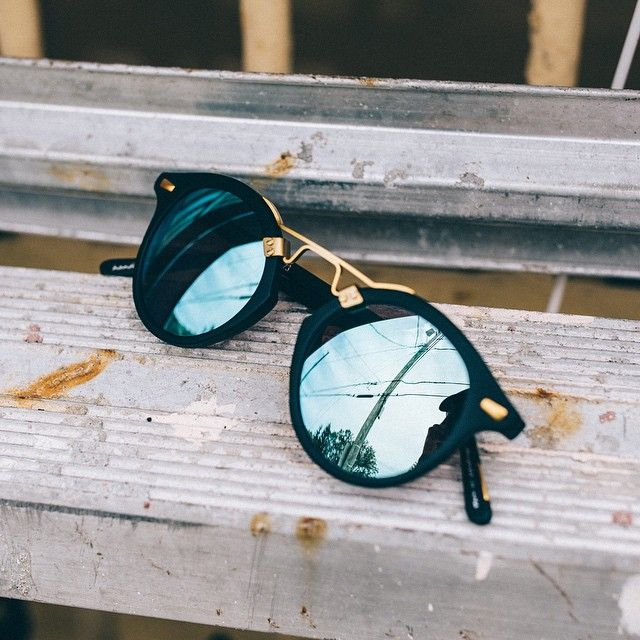 "KREWE is a New Orleans-based and culturally inspired independent eyewear company that celebrates individual style with modern, iconic frames. We are proud to welcome them to our brand mix. We are personally loving these ""St. Louis"" in Matte Black #KREWE #ARCHVS #NOLA"
