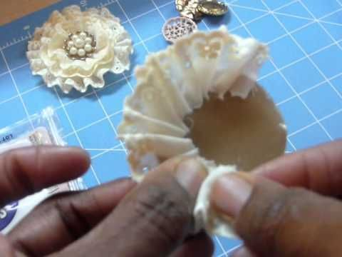 Handmade flower tutorial http://www.youtube.com/user/MsCooperscoop