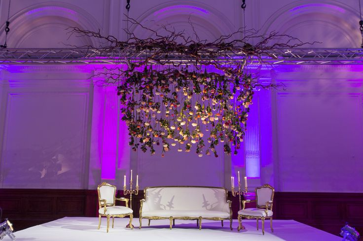 Event Wedding Styling at The Lindley Hall. Royal Horticultural Hall. Central London Wedding Venue.