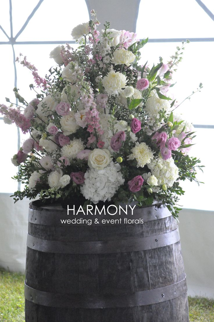 Pinks and whites - for the party venue
