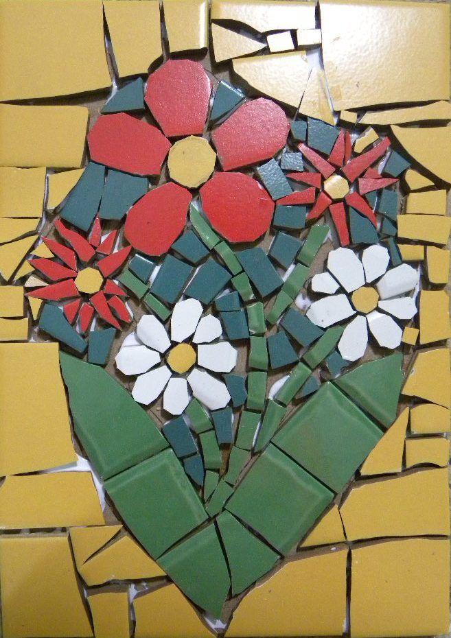 25 melhores ideias de mosaico no pinterest mosaicos for Mosaico ceramica