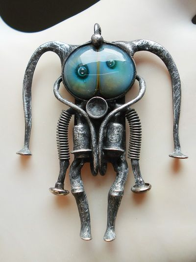 Jester, robot, scuba diver? I don't know what he is, but I love him.