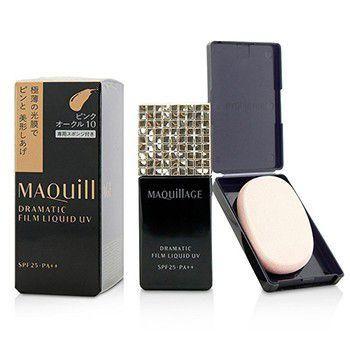 Maquillage Dramatic Film Liquid UV Foundation SPF 25 - #PO10 - 30ml-1oz