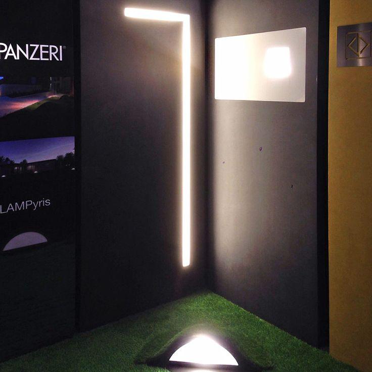 Live from Architect@Work Belgium 2015 #ATWBE #light #lighting #Panzeri #Kortrijk #design #lamps