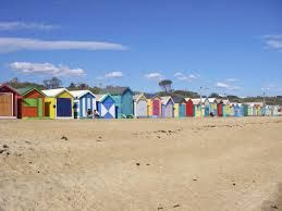 Brighton Beach Bathing Boxes - Australia