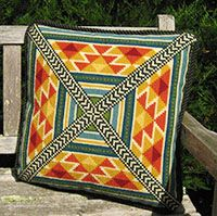 DOM - August 2014 Pattern TABRIZ from the cross-pointTM kit collection