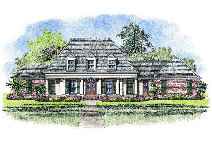Acadian style house plans gomez acadian house plans for Acadian home designs