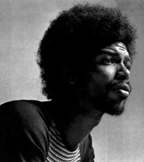 """Gil Scott-Heron ~ """"The Revolution Will Not Be Televised."""" (Apr 1, 1949 – May 27, 2011): American soul & jazz poet, author, musician, best known for spoken word performer in '70s & '80s. Efforts w/ Brian Jackson featured musical fusion jazz, blues, soul, w/lyrical content socio- political issues of the time, delivered in both rapping & melismatic vocal styles by Scott-Heron.  His music early '70s helped engender African-American music genres such as hip hop & neo soul.  ~Via Eric Schmidt"""