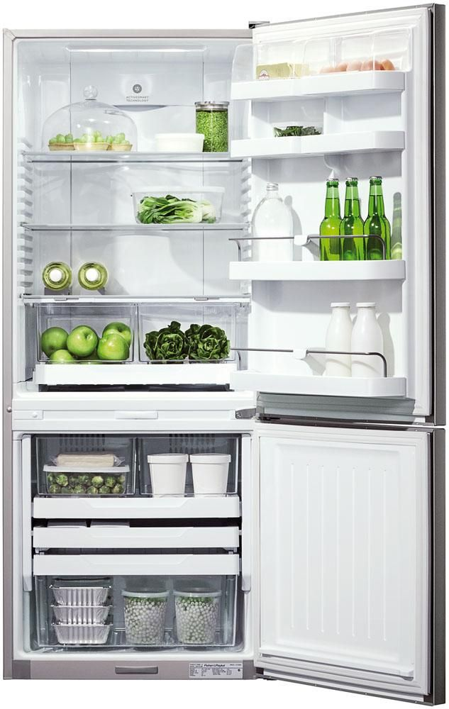 Fisher & Paykel 373 Litre Elegance Fridge Freezer Stainless Steel $1899.99 from Noel Leeming