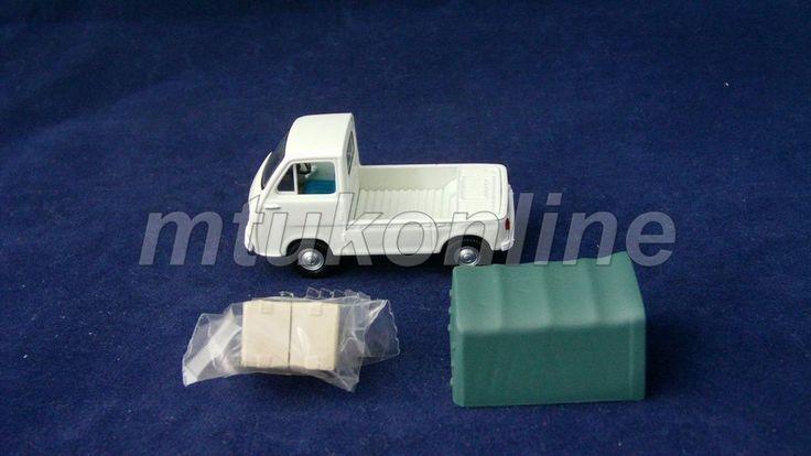TOMICA LV 77 | SUBARU SAMBAR TRUCK 1966 | 1/64 | KCAR MINI TRUCK | WHITE