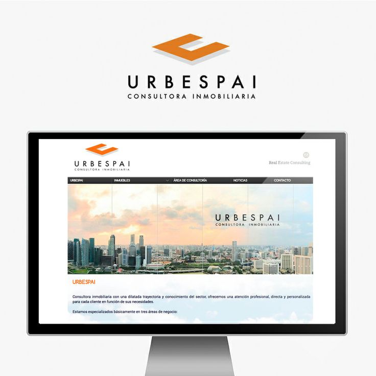 Diseño de página web para la consultora inmobiliaria URBESPAI