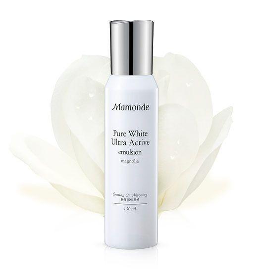 Amore Pacific MAMONDE Pure White Ultra Active Emulsion 150ml, Brightening Lotion #MAMONDE