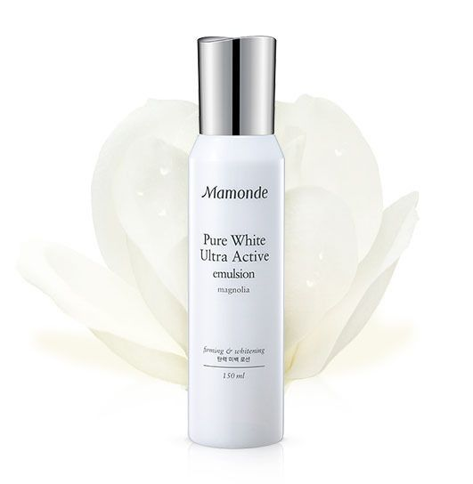 Amore Pacific MAMONDE Pure White Ultra Active Emulsion 150ml, Brightening Lotion #MAMONDE