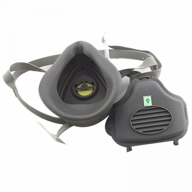 Respirator Gas Mask Filter Cotton Dustproof Antifog And