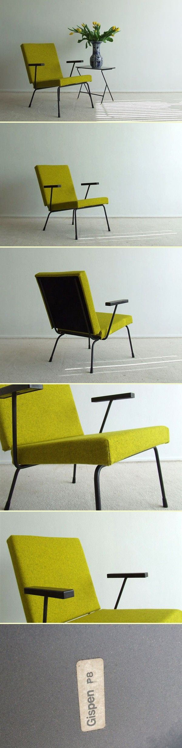 Lounge chair by Wim Rietveld for Gispen (1531)