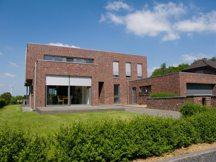 Moderner Bauhausstil mit Klinkern Bauhausstil, Haus