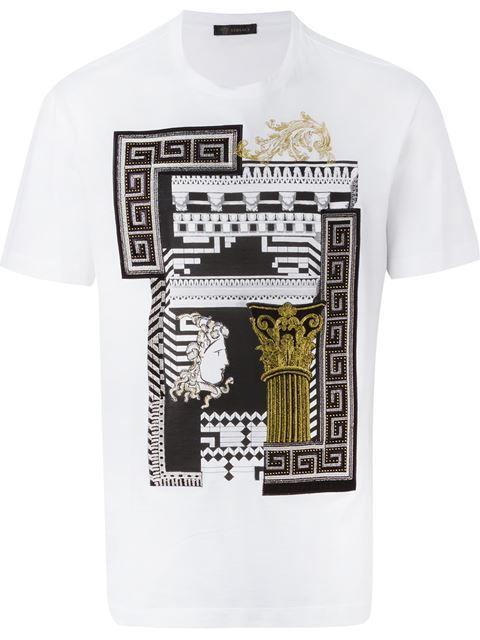 Versace 'Greek Graphic' T-shirt