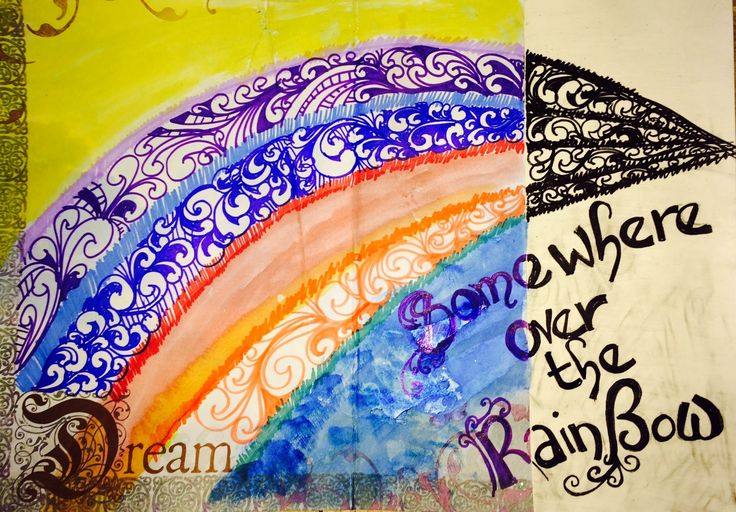 """Empress Bat's Journal: The Documented Life Project: 2015  January 17 Art Challenge:  The Colour Wheel Journal Prompt:  """"I found I could say things with colour and shapes that I couldn't say any other way . . . """"    - Georgia O'Keeffe"""