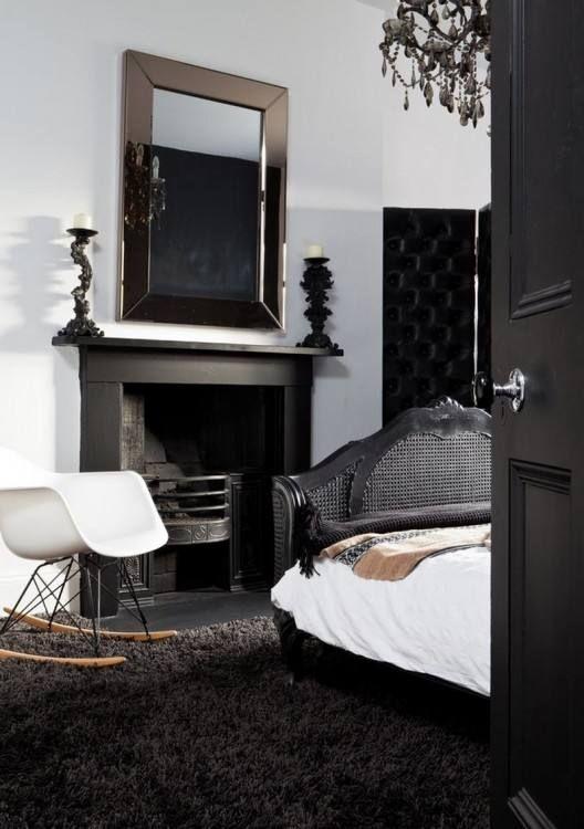 Good Rugs For Bedrooms | Bedroom Rugs | Black bedroom design ...