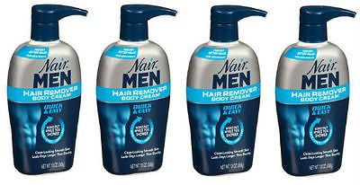 Hair Removal Creams and Sprays: 4 Pack Nair Men Hair Removal Body Cream 13Oz 022600588559 -> BUY IT NOW ONLY: $59.99 on eBay!