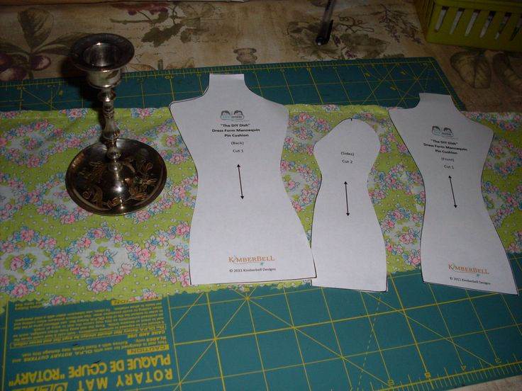 DIY Mannequin Pincushion Projects | could finish. The dress form mannequin pin cushion from DIY ...
