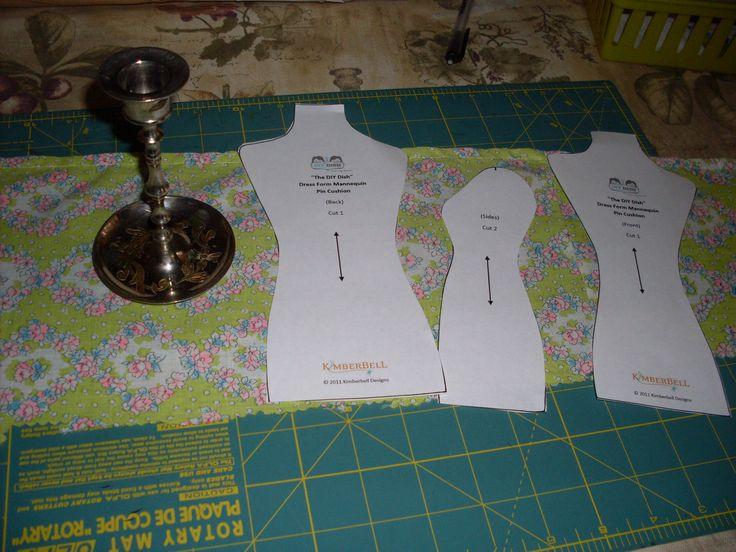 pincushion | dress form pincushion | Stitch It Again