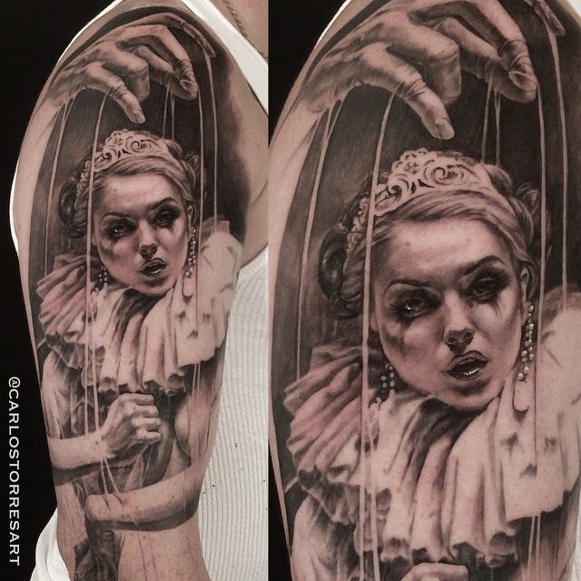Gorgeous tattoo by Carlos Torres