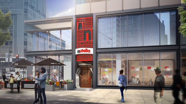 Chicago getting the world's first Nutella Cafe...
