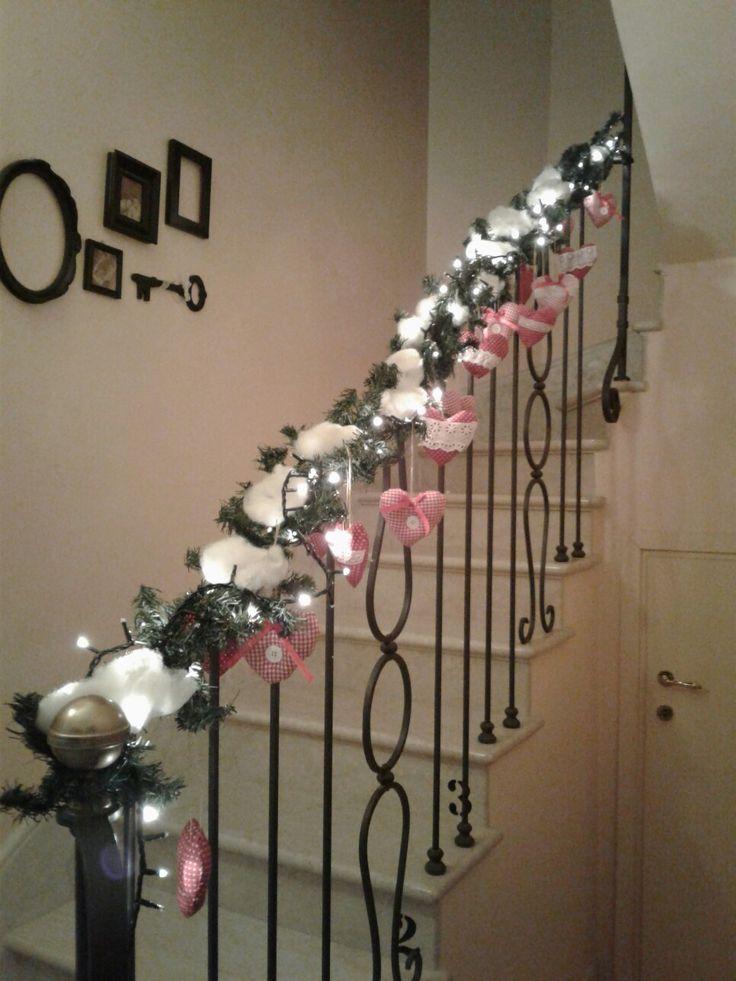 Christmas decor(heart hand made)by Erika P.
