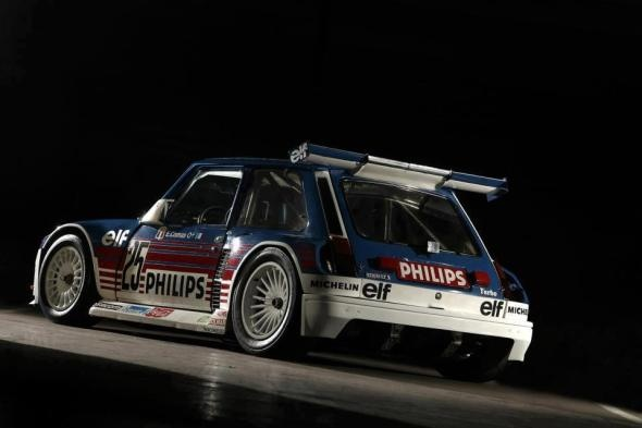 Renault Turbo 2 MR rally monster!