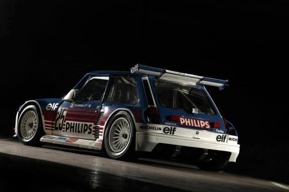 Renault Turbo 2 MR rally monster!