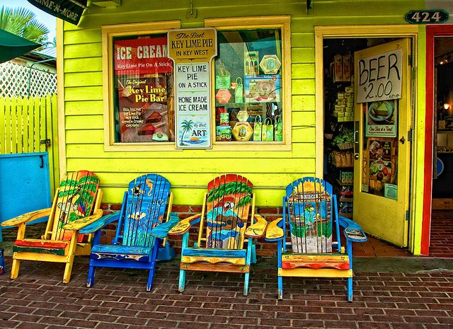 we sat in these chairs!: Favorite Places, Keywest, Colorful, Key Lime Pie, Colors, Florida Keys, Travel, Beach, Key West