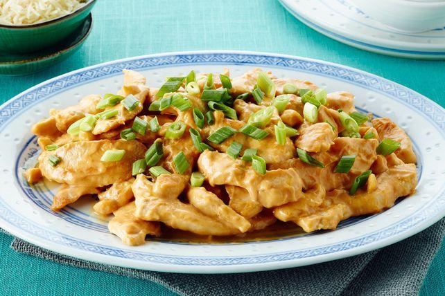 Spicy Peanut-Chicken Stir-Fry Recipe