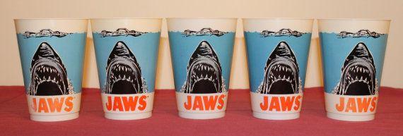 Jaws Collectibles & Movie Memorabilia: 1975 Slurpee Cup 7-Eleven