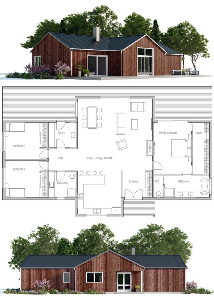 17 Best Images About Small House Plans On Pinterest | House Design