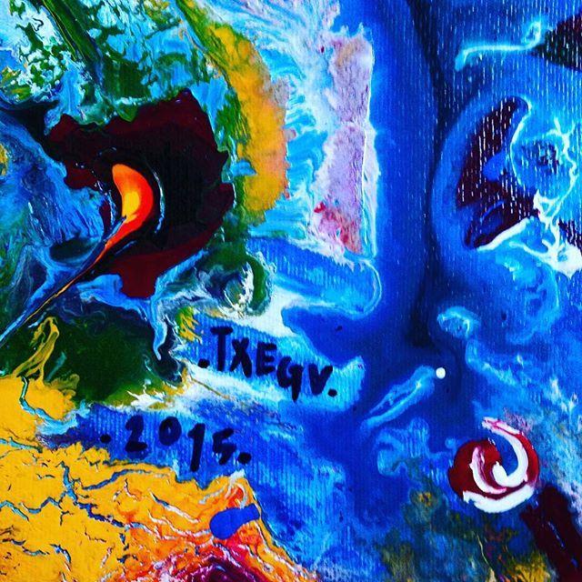 ... Details ... #art #arte #painting #signature #abstract #contemporary #detalles #instaart #instacool #color #inspiration #originalpainting #originalart #liveauthentic