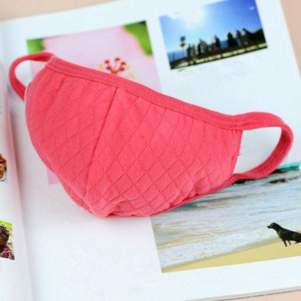 Random Delivery Winter Warm Dust Mask Cotton Mouth-muffs at Banggood