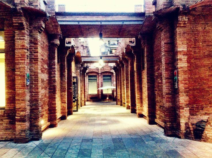 Barcelona - Caixa Forum - Exhibition hallway