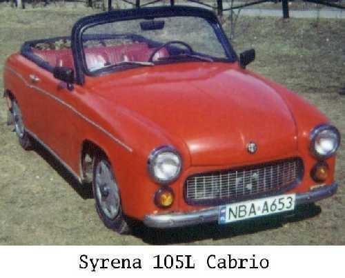 Syrena 105L